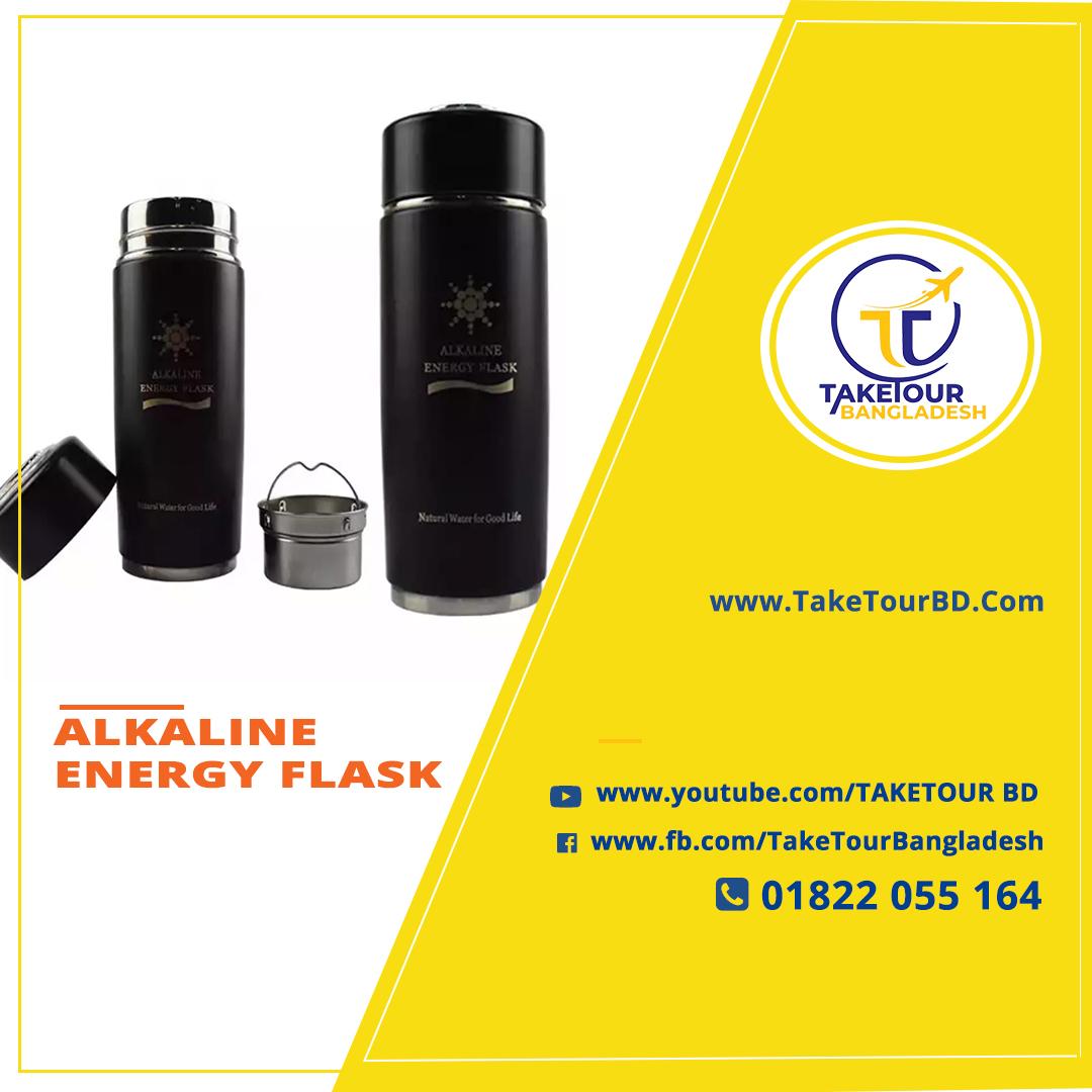ALKALINE ENERGY FLASK
